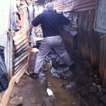 Following a friend in the Nairobi Slums