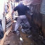 Following a friend in the Nairobi Slums